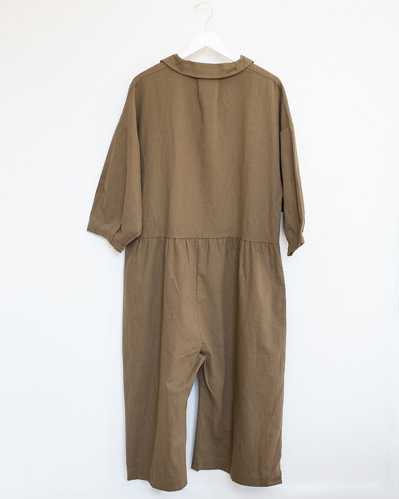Harrison Jumpsuit in Umber