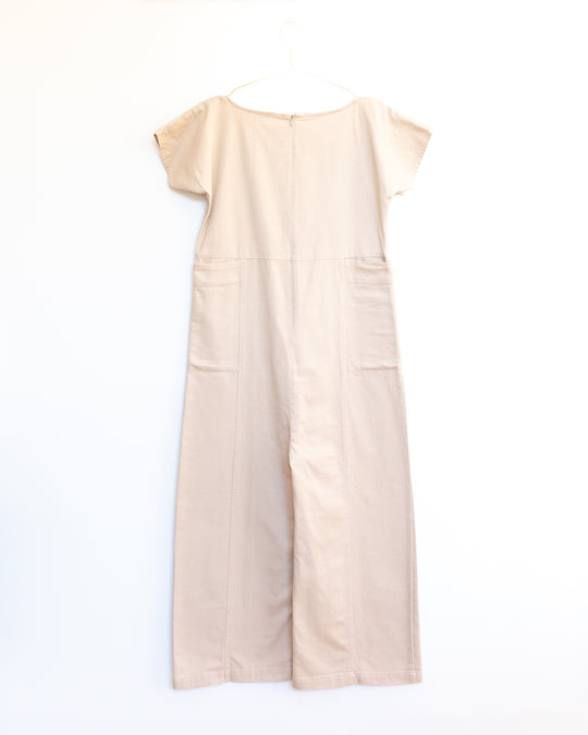 Shino Coverall in Toast