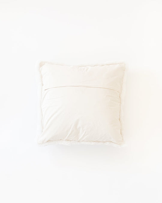 Alpaca Pillow Andes White