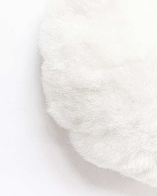 Moon Pillow in White