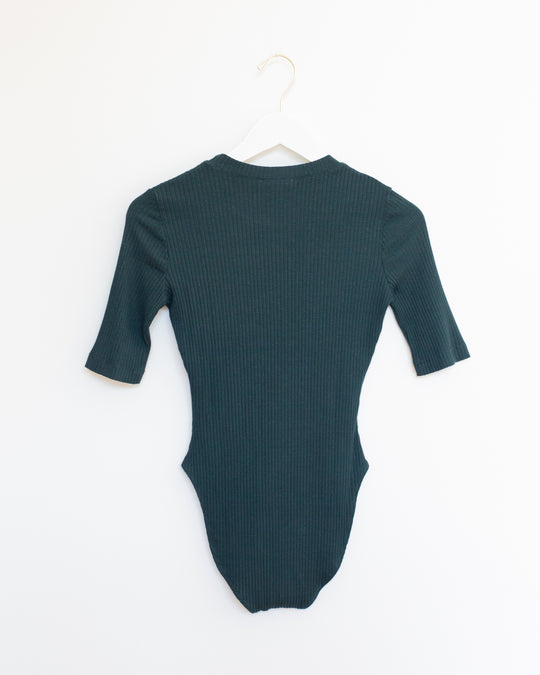 T-shirt Bodysuit in Forest