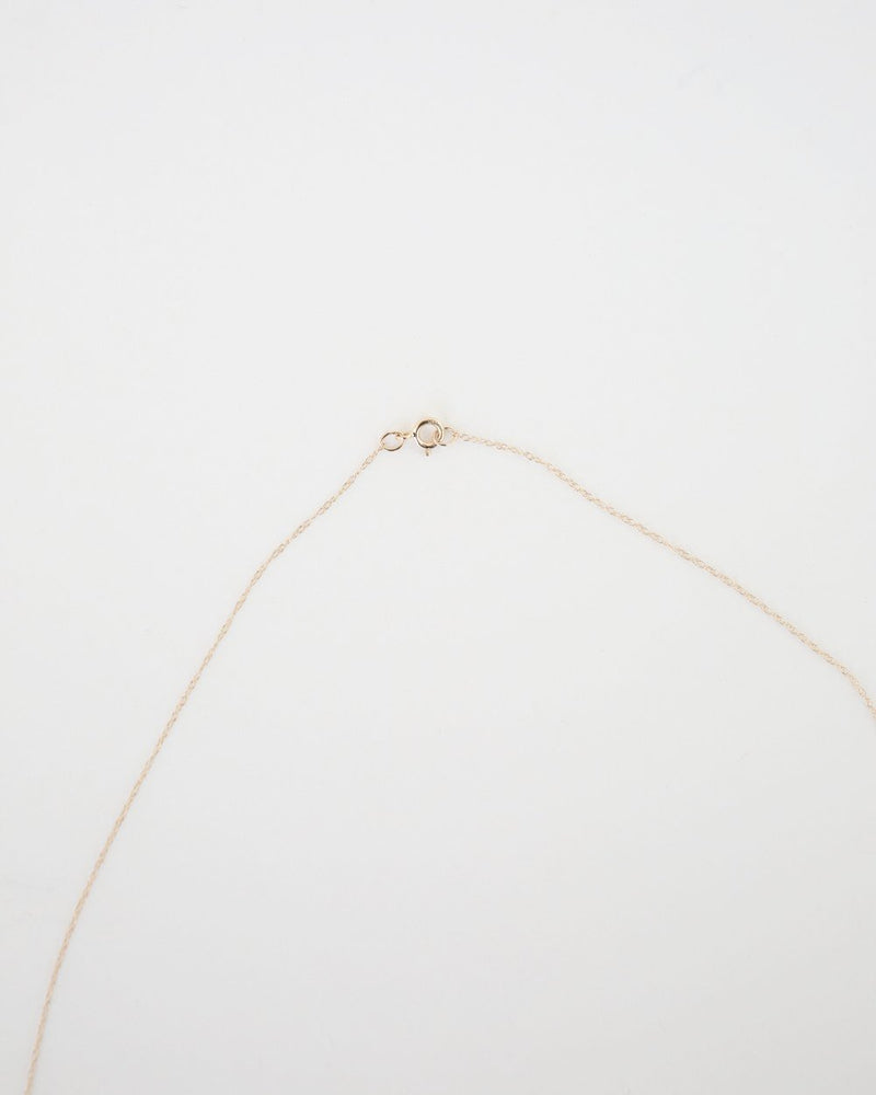Thin Chain Necklace in Gold