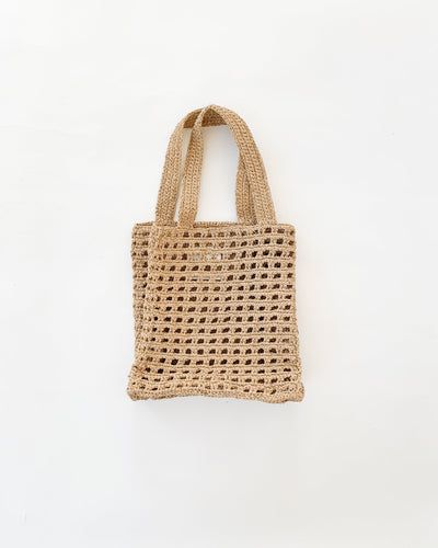 New Net Bag in Nude