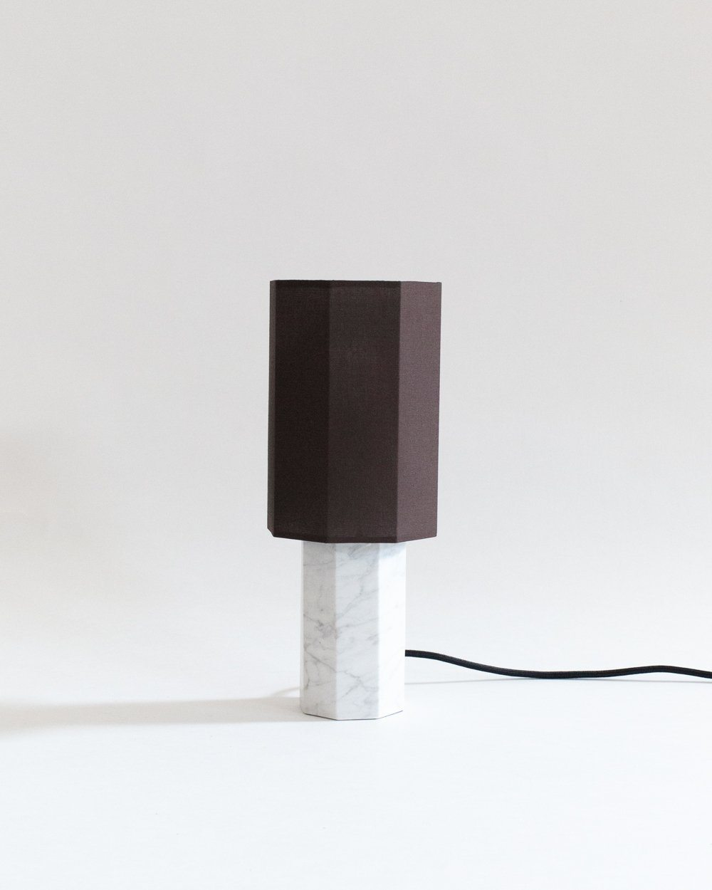 Small White Marble Table Lamp Louise Roe At Land