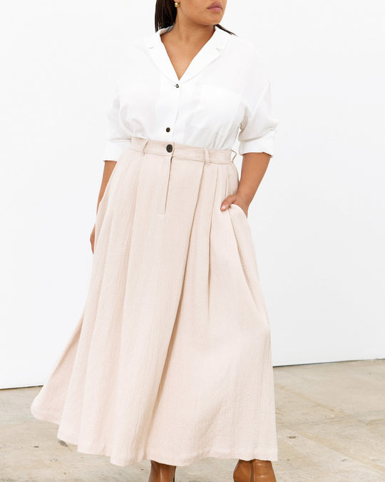 Tulay Skirt in Blush