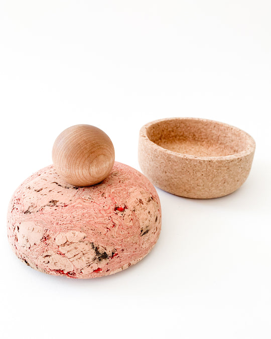 Cork Bolo Canister in Medium
