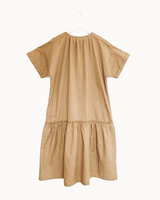 Cleo Dress in Golden