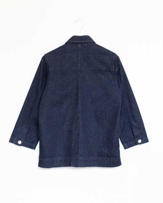 Field Jacket in Handspun Denim