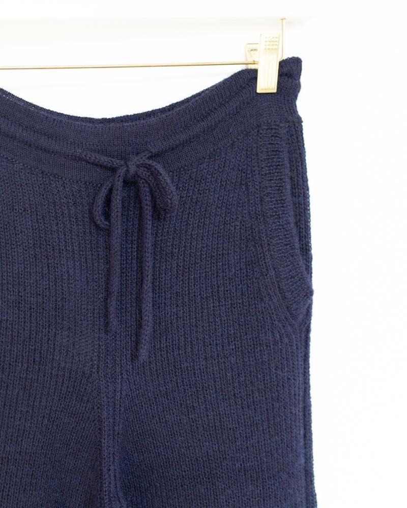 Rib Sweat in Navy