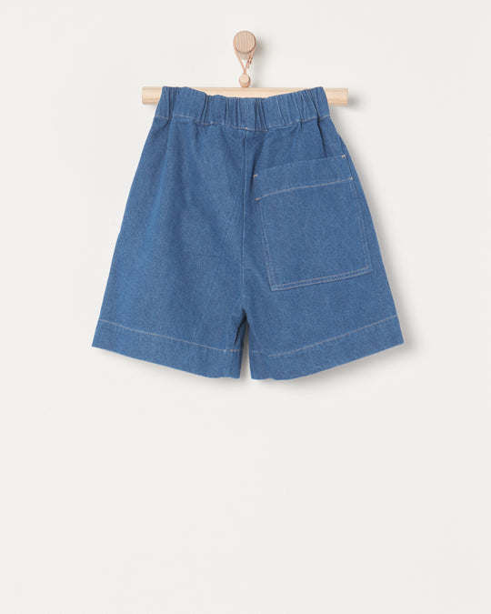 Utility Short in Tidal Denim