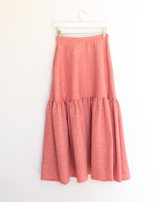 Claudia Skirt in Tea Rose