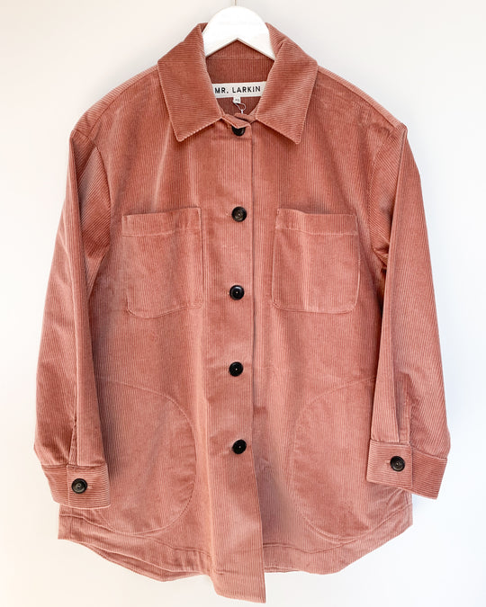 Izzie Jacket in Dusty Pink