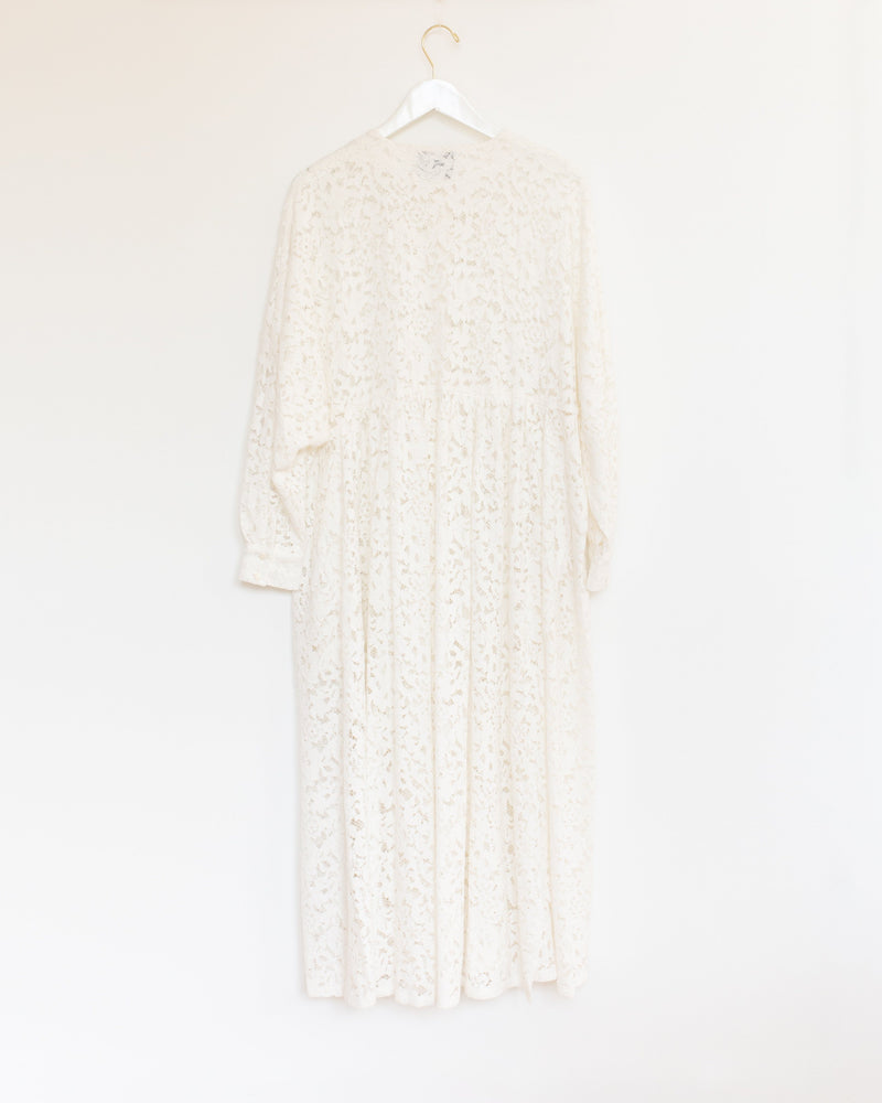 Nadine Dress in Paper Lace