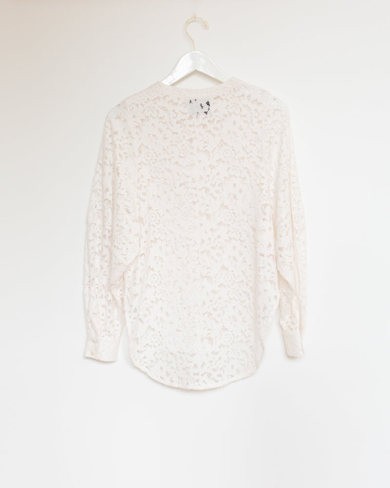 Rome Shirt in Paper Lace