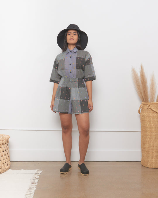 Vincent Short in Patchwork Gingham