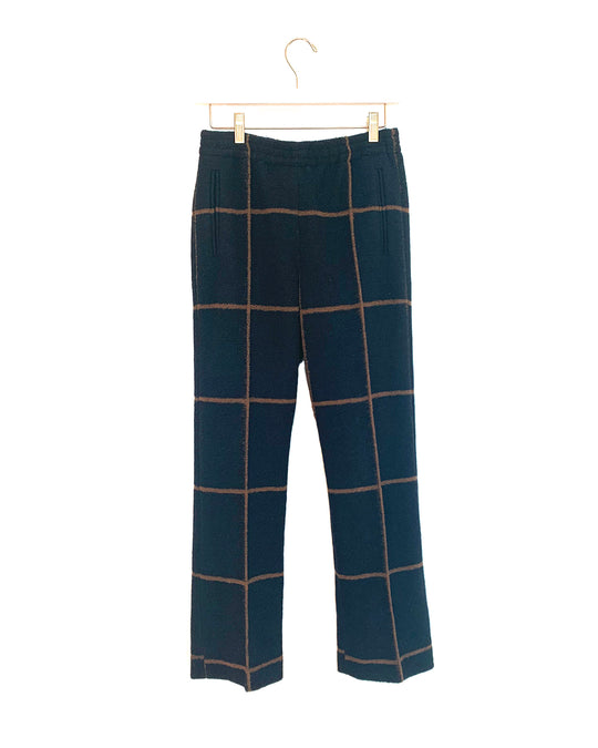 Quinlan Pants in Midnight/Camel