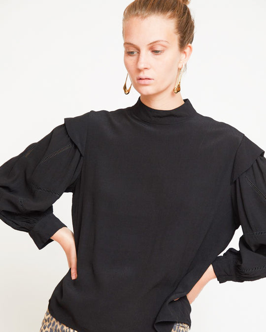 Gillian Top in Black