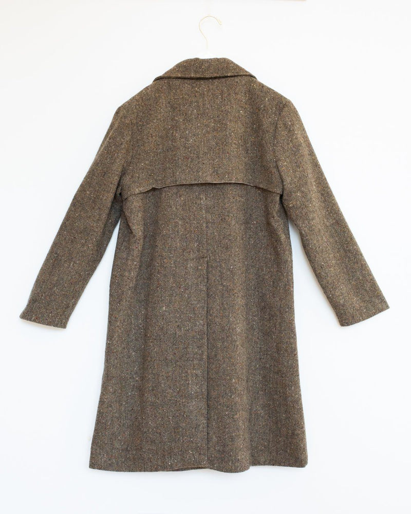 Ardmore Coat in Earth Tweed