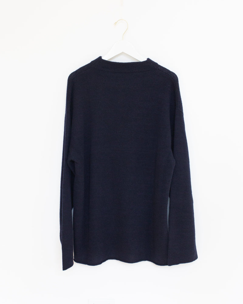 Donegal Sweater in Navy