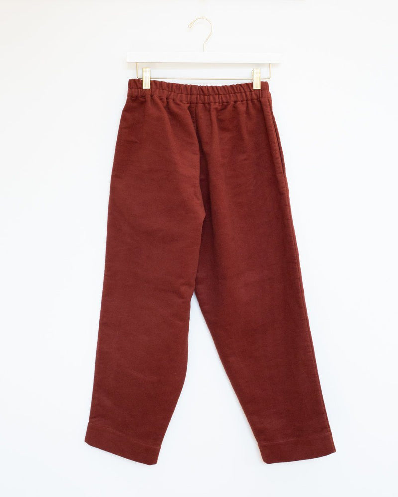 Sligo Pants in Rust Moleskin