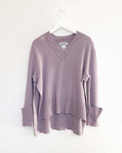 Moon Sweater in Lavender