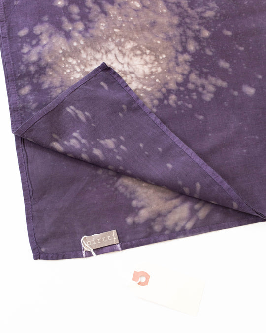 Plant Dyed Bandana in Constellation