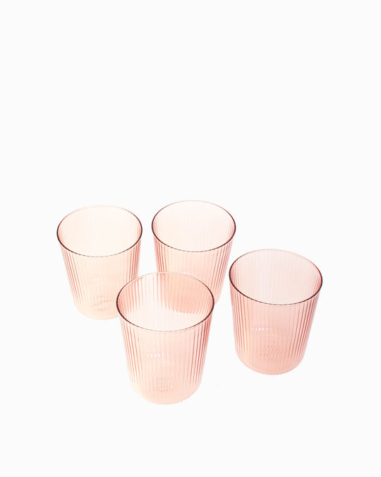 Luisa Tinto Aqua Glass in Cameo Pink