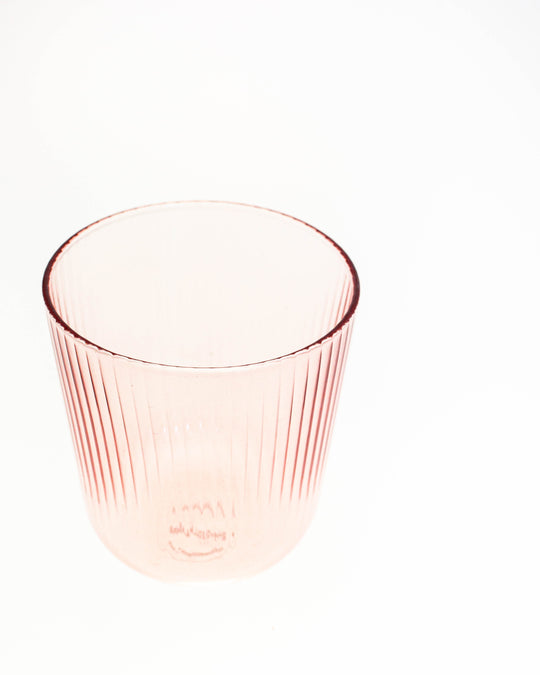 Luisa Tinto Vino Glass in Cameo Pink
