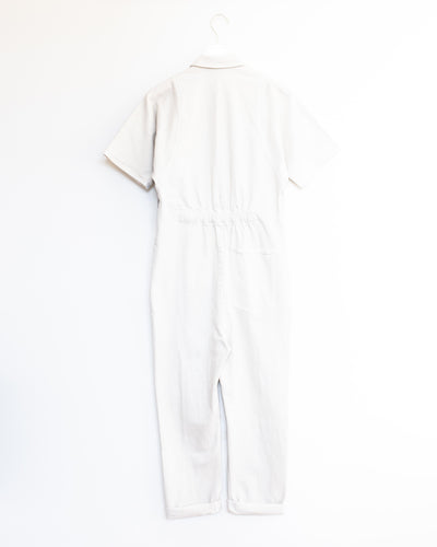 Handy Jumpsuit in Dirty White/ Washed Black