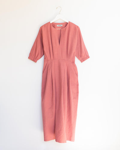 Virtuo Dress in Guava