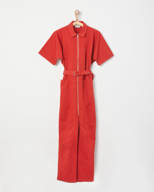 Handy Jumpsuit in Paprika