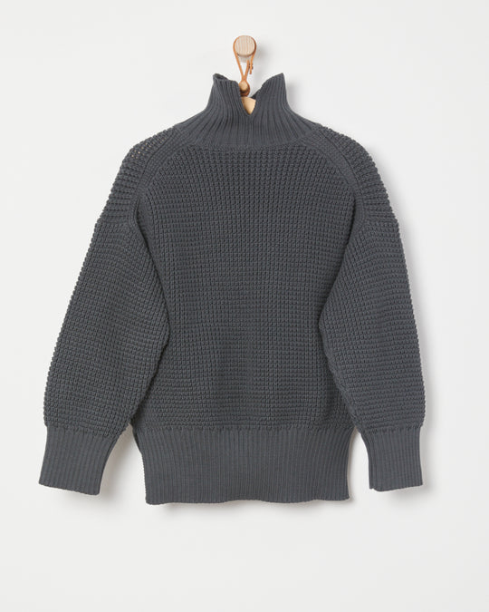 Manifold Pullover in Dark Grey