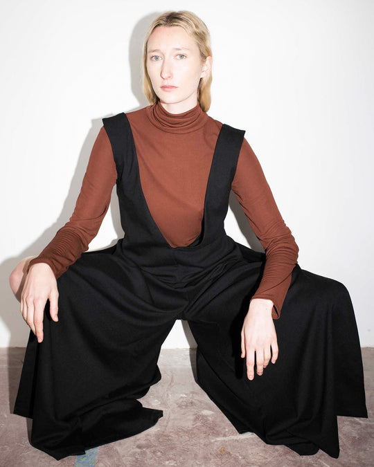 Attar Jumpsuit in Onyx