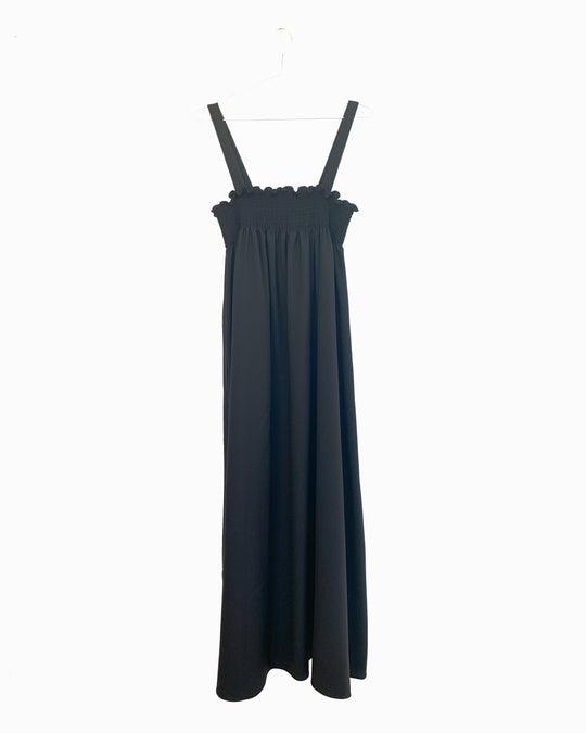 Pyrenees Dress in Onyx