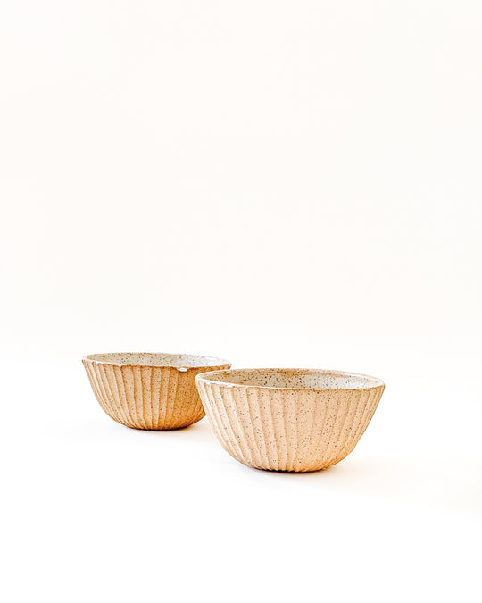 Fluted Bowl Small