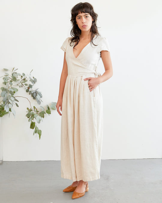 Angela Jumpsuit in Dune