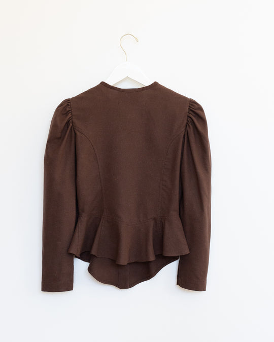 Rosa Blouse in Chestnut
