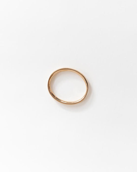 Edie Bangle in Brass