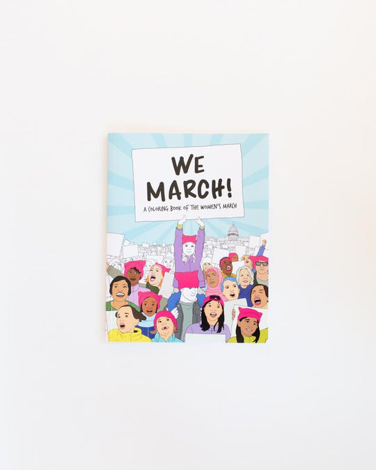We March Coloring Book