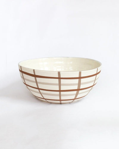 Inlaid Serving Bowl Large