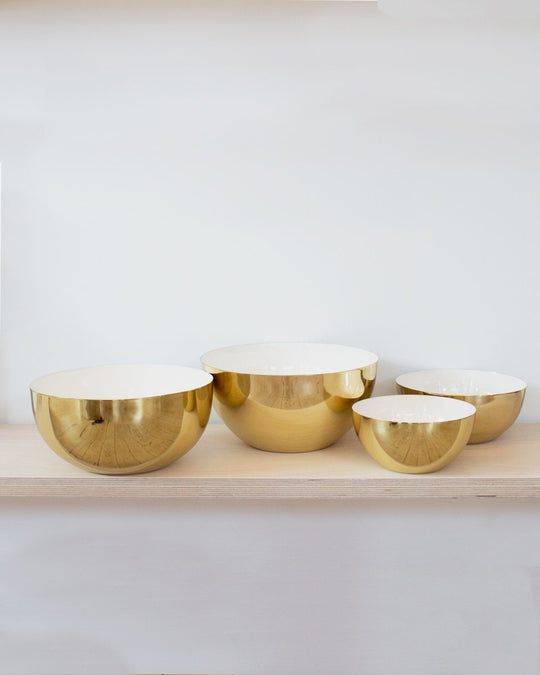 Louise Brass Bowl