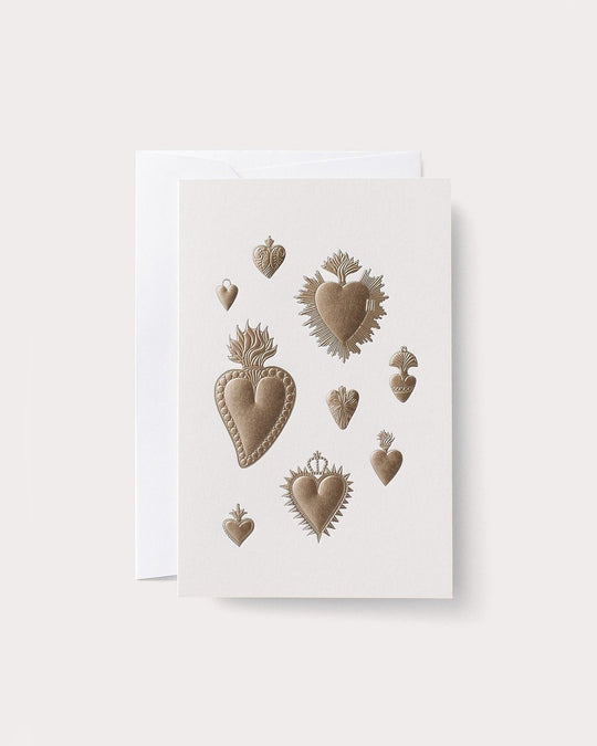 Heart Milagros Card