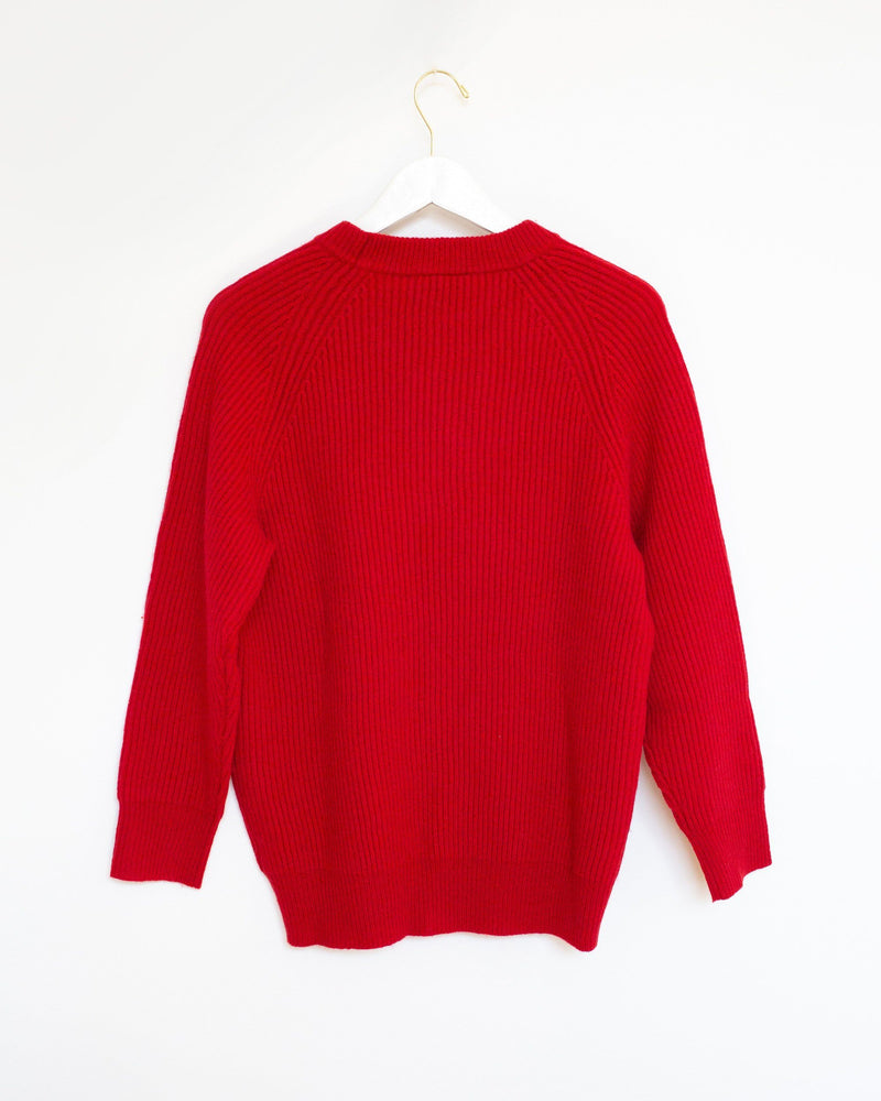 Darwin Sweater in Tomato