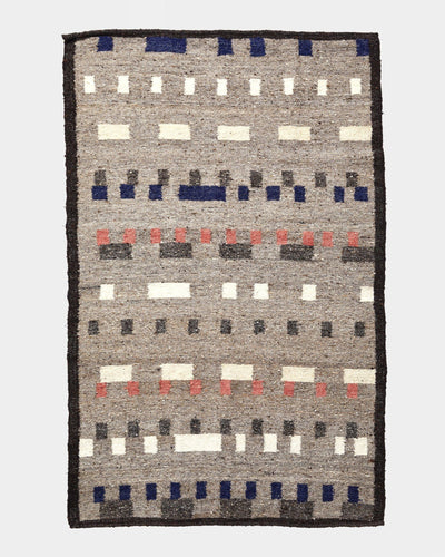 Wandering Mark Rug Greys