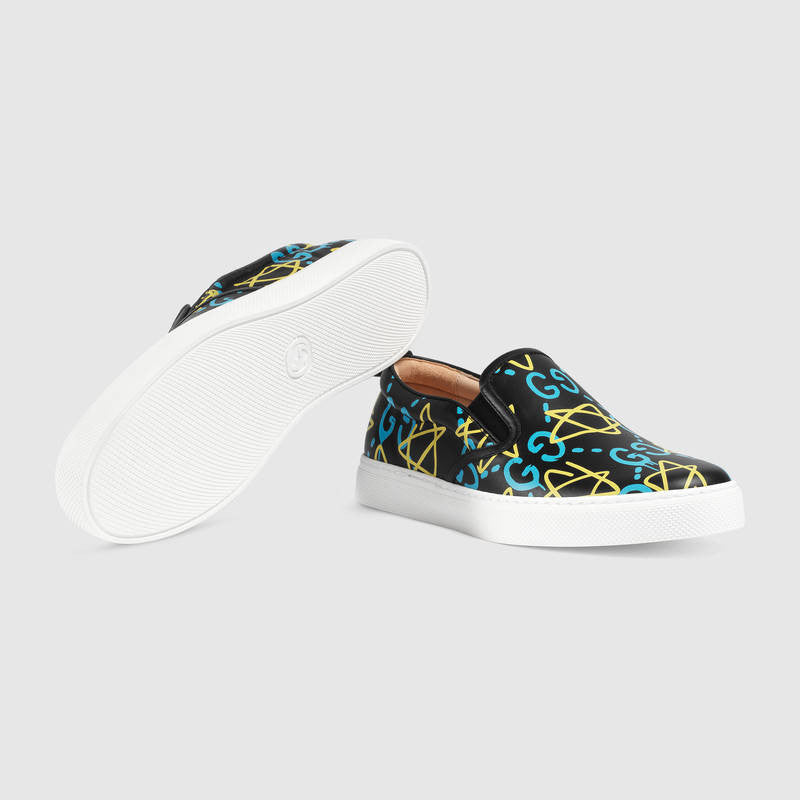 Gucci Ghost Slip-Ons