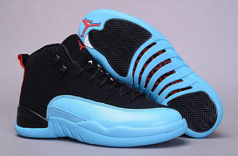 "AIR JORDAN 12 RETRO (GS) ""GAMMA BLUE"""