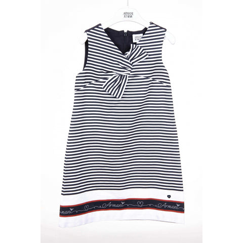 Armani Junior girls dress C3A03 NG WG