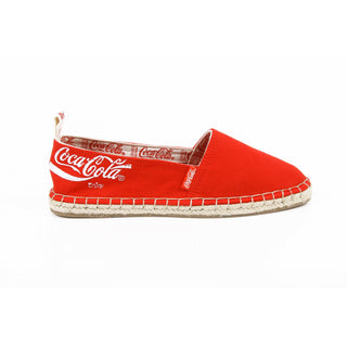 Coca Cola ladies espadrillas CC06102 JUTA CLASSIC RED