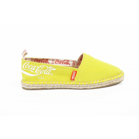 Coca Cola ladies espadrillas CC06102 JUTA CLASSIC YELLOW