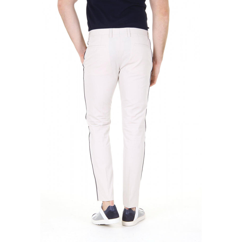Dolce & Gabbana mens trousers with Piping Lateral Stripe G616AT FUM2V M2826